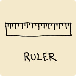 Ruler Visual Vocabulary